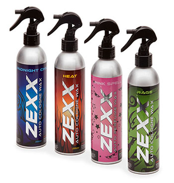 Zexx Auto Cologne Wax Products